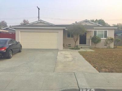 Santa Clara Single Family Home For Sale: 1862 Eisenhower Drive