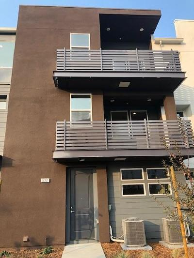 Milpitas Condo/Townhouse For Sale: 532 Clover Circle #Lot 69