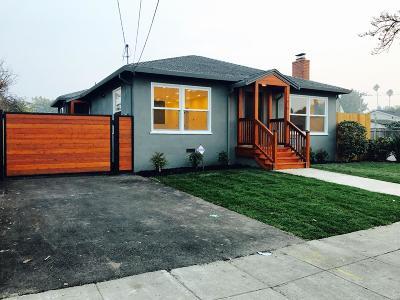 San Mateo Single Family Home For Sale: 1016 Cypress Avenue