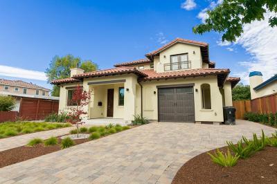 San Mateo County, Santa Clara County Rental For Rent: 3331 Emerson Street