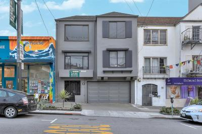 Multi Family Home Sold: 3433 Balboa Street