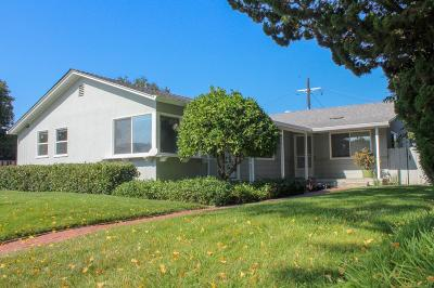 Santa Clara Multi Family Home For Sale: 1621 Newhall Street
