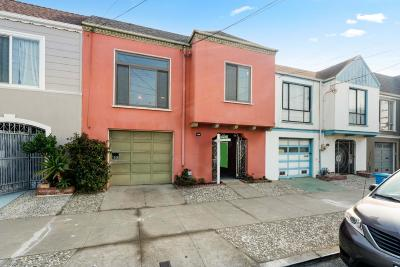 San Francisco Single Family Home For Sale: 1506 46th Avenue