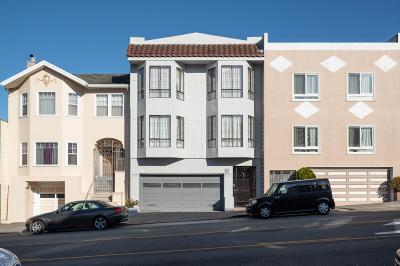 San Francisco Multi Family Home For Sale: 644-646 25th Avenue