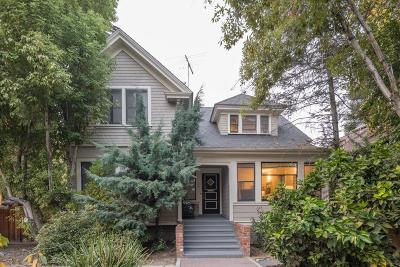 Palo Alto Single Family Home For Sale: 1251 Bryant Street