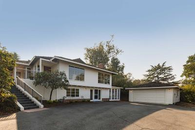 Palo Alto Single Family Home For Sale: 4195 Oak Hill Avenue