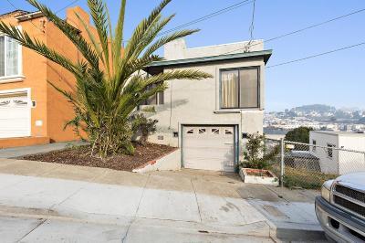 San Francisco Single Family Home For Sale: 327 Maynard Street