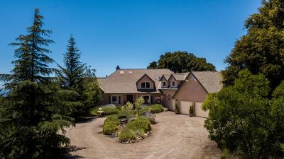 Los Gatos Single Family Home For Sale: 13525 Indian Trail Road