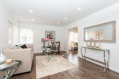 Mountain View Condo/Townhouse For Sale: 631 Fairmont Avenue #B