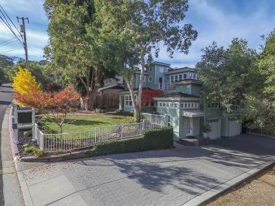 Los Gatos Single Family Home For Sale: 140 Central Avenue
