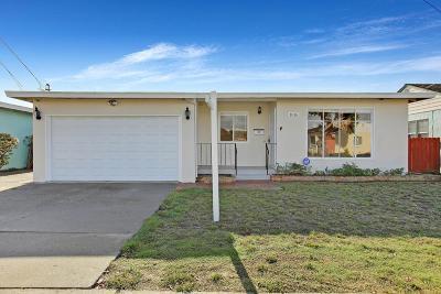 San Leandro Single Family Home Pending Show For Backups: 1016 Fargo Avenue