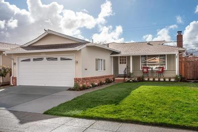 San Mateo Single Family Home For Sale: 2232 Portsmouth Way