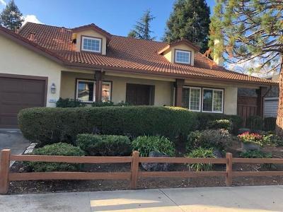 Gilroy Single Family Home For Sale: 8955 Ridgeway Drive