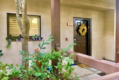 Walnut Creek Condo/Townhouse Pending Show For Backups: 214 N Villa Way