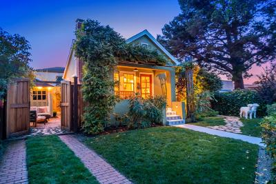 Burlingame Single Family Home For Sale: 737 Crossway Road