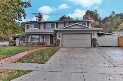San Jose Single Family Home Pending Show For Backups: 1480 De Palma Drive