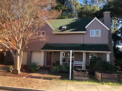 Santa Cruz Single Family Home For Sale: 148 Forest Avenue