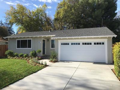 Santa Clara Single Family Home For Sale: 2543 Johnson Place