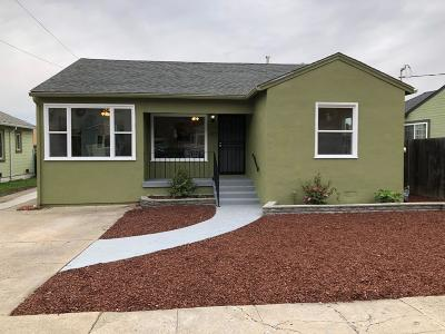Hayward CA Single Family Home For Sale: $628,888