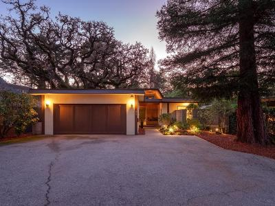 San Mateo Single Family Home For Sale: 649 Edgewood Road