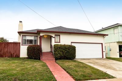 Millbrae Single Family Home For Sale: 464 Anita Drive