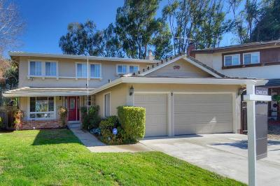 San Mateo Single Family Home Pending Show For Backups: 3 Whitecliff Court