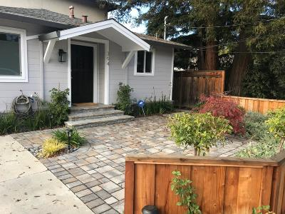 Mountain View Single Family Home For Sale: 394 Mariposa Avenue