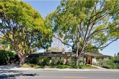 Palo Alto Single Family Home For Sale: 1955 Newell Road