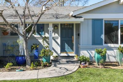 San Jose Single Family Home For Sale: 457 Cypress Park Court