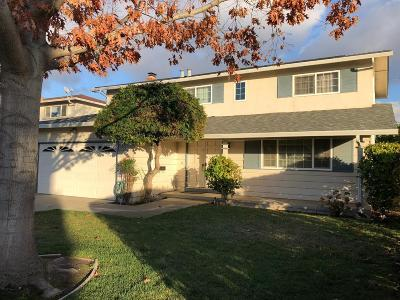 Milpitas Single Family Home For Sale: 1252 Columbus Drive