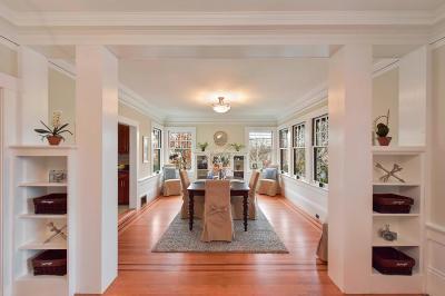 Burlingame Single Family Home For Sale: 925 Chula Vista Avenue
