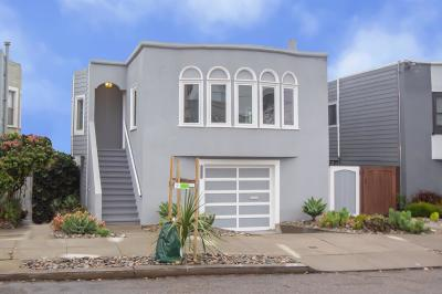 San Francisco Single Family Home Pending Show For Backups: 2211 44th Avenue