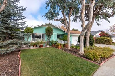 Cupertino Single Family Home For Sale: 7563 Dumas Drive