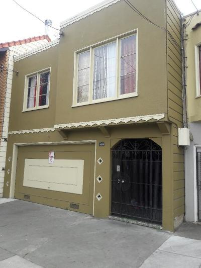 San Francisco Multi Family Home For Sale: 1571 Revere Avenue