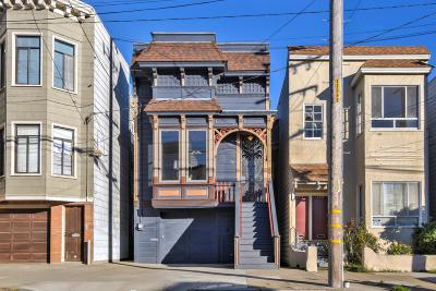 San Francisco Single Family Home For Sale: 370 11th Avenue