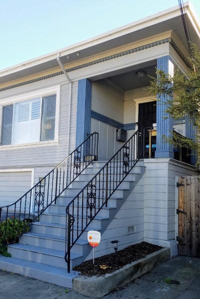 Emeryville Single Family Home For Sale: 1055 43rd Street
