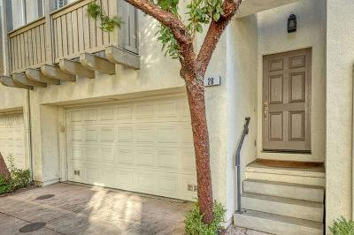 Milpitas Condo/Townhouse For Sale: 28 Wind Song