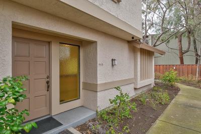 Sunnyvale Condo/Townhouse For Sale: 443 Hogarth Terrace