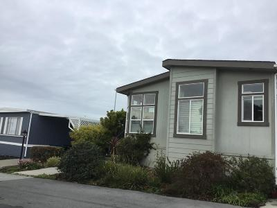 Half Moon Bay Mobile Home Pending Show For Backups: 8 Oceanview Avenue