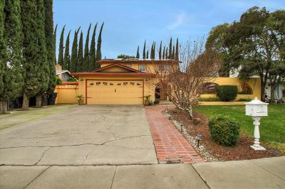 Tracy Single Family Home Pending Show For Backups: 3241 Arnaudo Lane