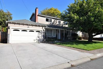 Sunnyvale Single Family Home For Sale: 1368 Pauline Drive