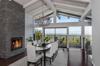 Los Gatos Single Family Home For Sale: 19051 Overlook Road