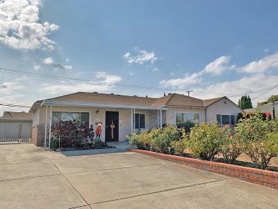 Santa Clara Single Family Home For Sale: 3160 Humbolt Avenue