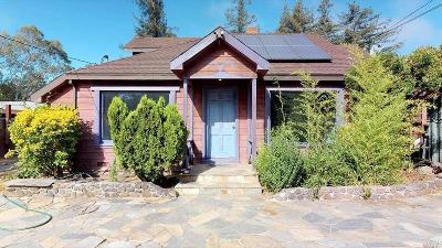 Sonoma County Single Family Home For Sale: 18350 Arnold Drive