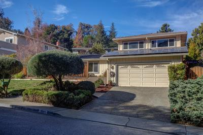 Cupertino Single Family Home Pending Show For Backups: 21695 Regnart Road