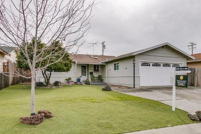 Milpitas Single Family Home Pending Show For Backups: 1332 Acadia Avenue