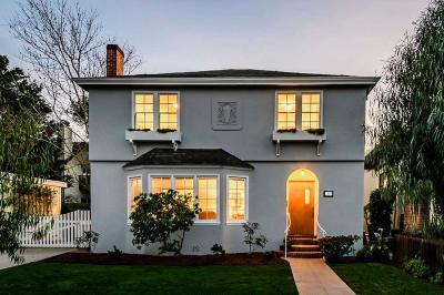 Burlingame Single Family Home For Sale: 1009 Laguna Avenue