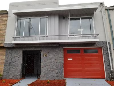 San Francisco Single Family Home Pending Show For Backups: 2083 Palou Avenue