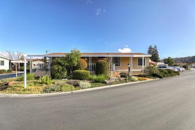 San Jose Mobile Home For Sale: 807 Villa Teresa Way