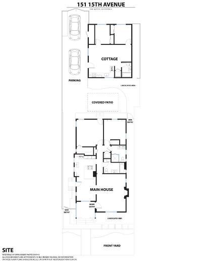 San Mateo Multi Family Home For Sale: 151 15th Avenue